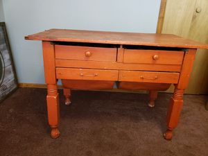Antique Bread Table/Desk for Sale in Morrison, CO