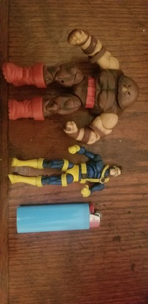 Marvel, Juggernaut and Cyclops action figures. X-men lot collectables for Sale in Vancouver, WA