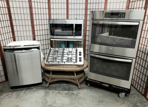 """Stainless Steel APPLIANCES with 30"""" Cooktop and DOUBLE OVEN for Sale in North Las Vegas, NV"""