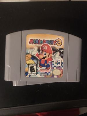 Mario party 3 N64 for Sale in Fresno, CA