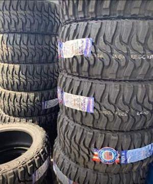 "22"" FEDERAL XPLORA M/T Brand New Mud Terrain Tires Size 35x12.50R22 ....$225 Each for Sale in Huntington Beach, CA"