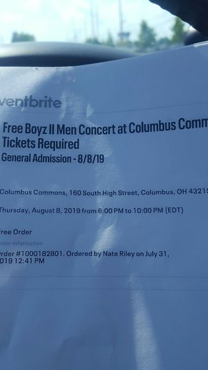Boyz 2 Men Tickets for Sale in Grove City, OH