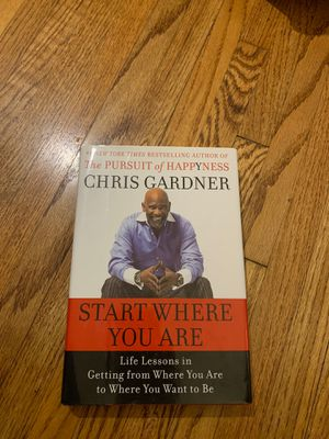 Chris Gardner the pursuit of happiness book for Sale in View Park-Windsor Hills, CA