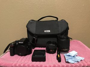 Nikon d3300 with accessories for Sale in Austin, TX