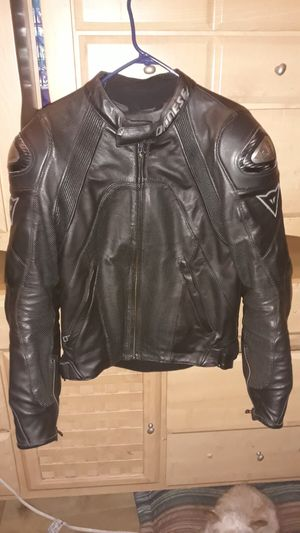 Dainese motorcycle jacket size 48 for Sale in Santa Ana, CA