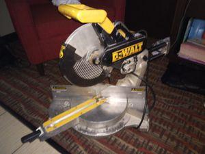 DeWalt miter saw for Sale in Tacoma, WA