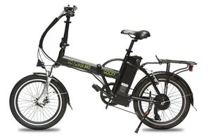 Title: GoGityBike All Terrain Electric Foldable Bicycle with 500W Removable 48V 10AH Lithium-Ion Battery for Sale in Houston, TX