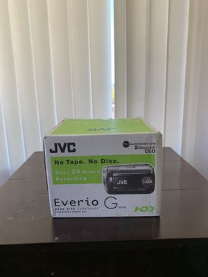 JVC Everio GZ-MG77u hard disk camcorder for Sale in Los Angeles, CA