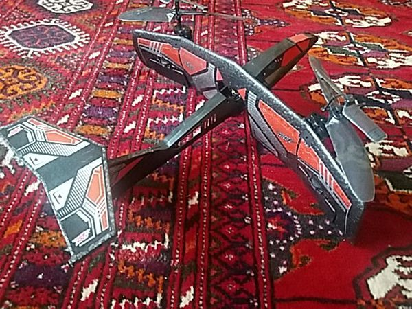 Air Hogs RC: Fury Jump Jet, helicopter-plane hybrid