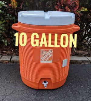 10 Gallon Water Cooler Job Site Sports Team Heavy Duty Construction for Sale in Pembroke Pines, FL
