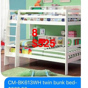 Furniture. Bunk bed. Trundles are $100 Mattresses are extra. Assembly required. Free delivery. for Sale in Pico Rivera, CA