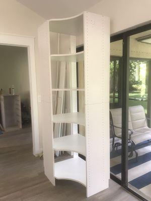 Custom Large Corner Shelving Unit for Sale in Jupiter, FL