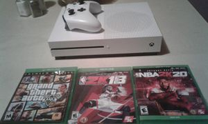 780tb Xbox one cordless controller rechargeable battery rechargeable battery 3game hard copy and bunch on game 160firm for Sale in Pulaski, TN