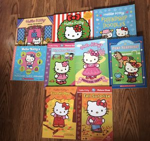 Hello Kitty Books 2 for $5 for Sale in Greenacres, FL
