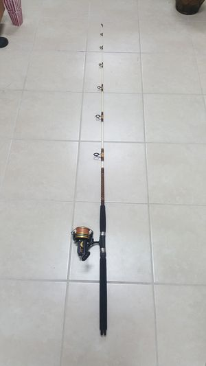 Penn 850ss high speed reel With Rod FPS-D22 Made in Japan for Sale in Pembroke Park, FL