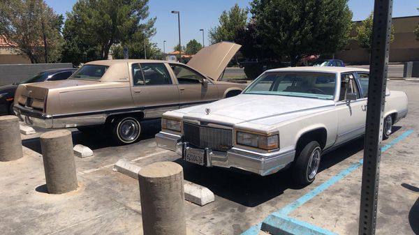 1990 Cadillac brougham lowrider for Sale in Lancaster, CA - OfferUp