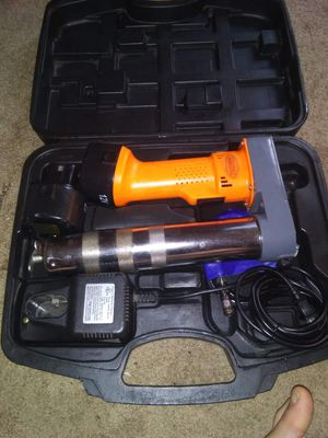 Battery operated grease gun for Sale in Citra, FL