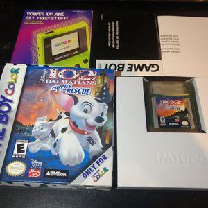 102 Dalmatians Nintendo Game Boy Color for Sale in Los Angeles, CA