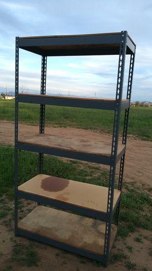 Metal shelf /wood for Sale in Clovis, CA