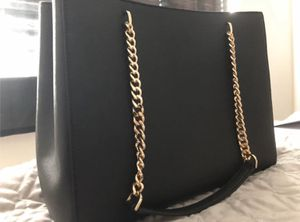 MICHAEL Michael Kors Ellis Large Leather Chain Tote Bag for Sale in Keller, TX