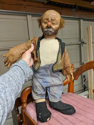 Emmett Kelly Willie the clown doll for Sale in Monroe, WA