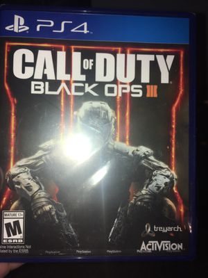 back ops 3 for ps4 for Sale in San Angelo, TX