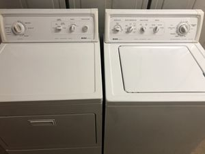 Matching Kenmore Washer & Dryer. FREE DELIVERY ! for Sale in Watauga, TX