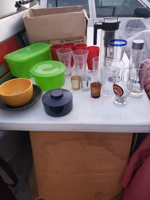 Free glasses and kitchen accessories for Sale in West Covina, CA