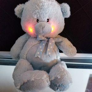 Cuddle Barn Plush Boy Baby's 1st 10 Inch Bear Teddy Lullaby Blue for Sale in Romeoville, IL