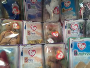 Complete McDonald's collection beanie babies for Sale in Riverside, CA