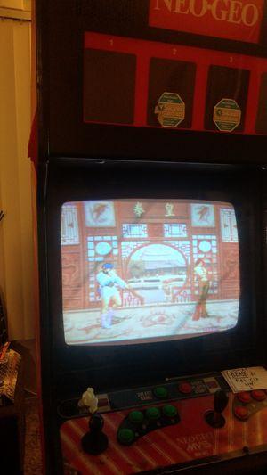 Neo geo snk mvs arcade cabinet for Sale in Chula Vista, CA