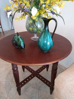 Vintage wood table mesa madera antigua for Sale in Fort Lauderdale, FL