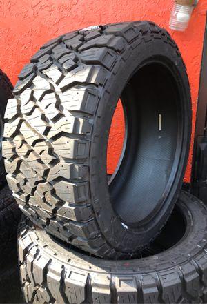 33x12.50R22 33 12.50 22 Kenda R/T tire tires level lift kit alignment wheels rims for Sale in West Palm Beach, FL