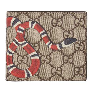Men's Gucci Snake Bifold Wallet for Sale in Dallas, TX