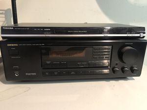 Onkyo surround sound receiver and Toshiba DVD for Sale in Orange, CA
