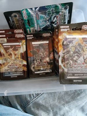 Lot of yugioh packs for Sale in Maple Heights, OH