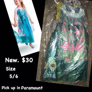 Elsa frozen fever costume for Sale in Paramount, CA