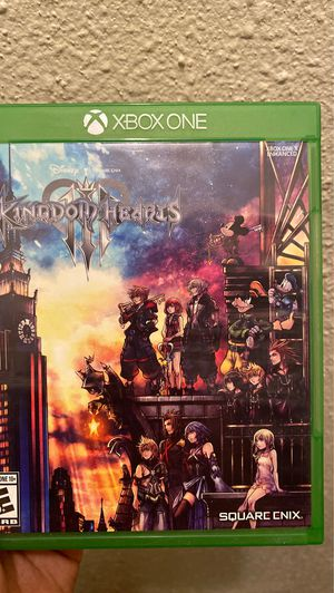 Kingdom hearts Xbox 1 for Sale in Houston, TX