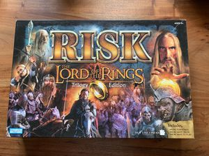 Lord of the rings Risk board game for Sale in Vancouver, WA