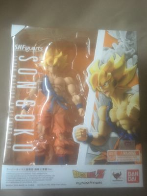 Dragonball Z SHFiguarts Awakened Warrior SSJ Goku for Sale in Stockton, CA