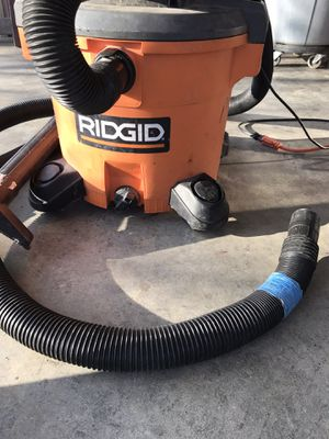 Ridgid vacuum for Sale in Grand Prairie, TX