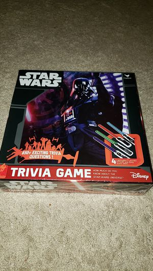 Star Wars Trivia Game for Sale in Round Hill, VA