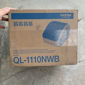 """Brother QL-1110NWB WIRELESS 4"""" Wide-Shipping Barcode Pro Thermal Printer for Sale in Buena Park, CA"""