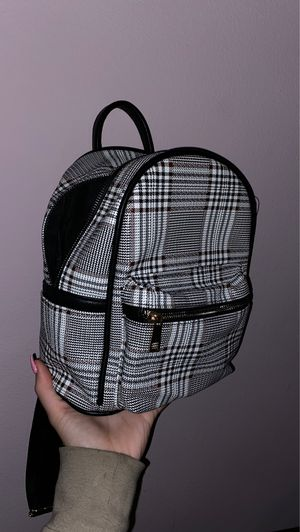 Glen Plaid Mini Backpack ($30 value) for Sale in Downey, CA