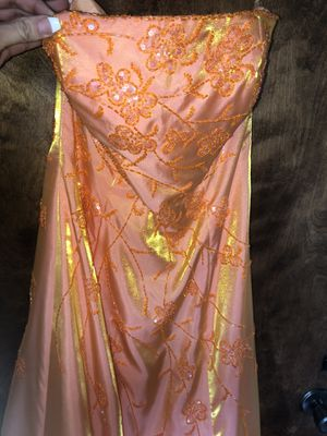 Handmade embroidered prom dress for Sale in Crockett, CA