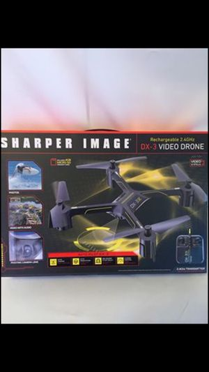 Sharper Image Rechargeable DX-3 Video Drone for Sale in Los Angeles, CA