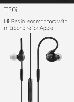 RHA T20i earbuds no box included like new for Sale in Grove City, OH