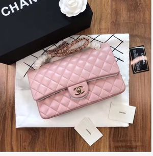 Pink lambskin chanel bag for Sale in Alpharetta, GA