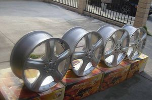 "Set of 4 Genuine Mercedes alloy wheels & Rear alloy wheels: 19 x 8"" ET60 Wheel part number: MER B66474204 for Sale in Los Angeles, CA"