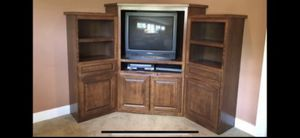 Free!! Corner cabinet. for Sale in Puyallup, WA
